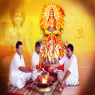 Surya (Sun) Grah Puja Man