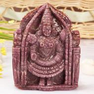 Tirumalai Balaji in Ruby - 1090 Carats