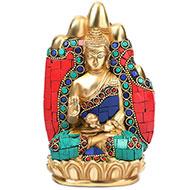 Hand Buddha with Stone Work