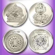 Kuber-Laxmi Yantra Coin Set