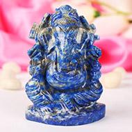 Lapis Lazuli Ganesha 185 gms