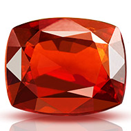African Gomed - 8.15 carats - Cushion