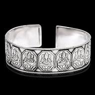 Ganesh Kada in pure silver - Design II
