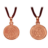 Mahasudarshan Yantra Locket - Copper