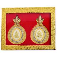 Ganesh Laxmi silver coins