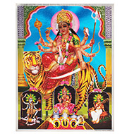 Goddess Durga Devi Photo - Large