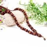4 Mukhi Brahma Kantha - 32+1 beads - Design II
