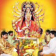 Durga Puja and yajna