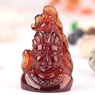 Shiva in Gomed - 59.45 carats