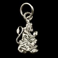 Hanuman locket - in pure silver - Design X