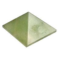 Pyramid in Green Jade - 65 gms