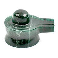 Green Jade Shivlinga - 108 gms