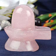 Rose Quartz Shivling - 268 gms