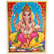 Ganeshji Glittering Photo