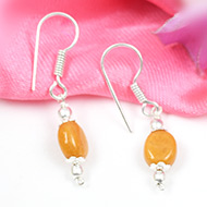 Yellow Sapphire earring-Design III