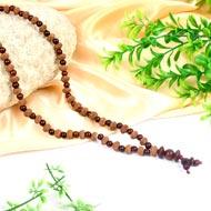 8 mukhi Ganesh Mala from Java with Red Sandalwood beads