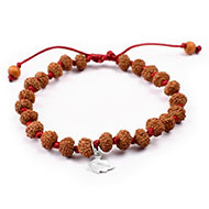 8 mukhi Ganesha bracelet from Java in silk thread