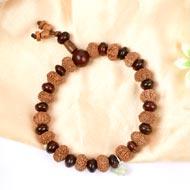 8 mukhi Ganesha bracelet from Java with Red Sandalwood beads