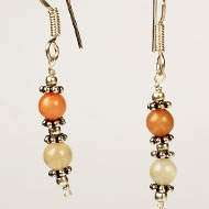 Moonstone  Earrings - I