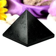 Pyramid in Black Tourmaline-III