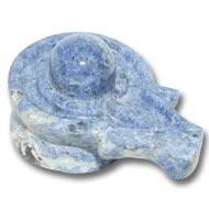 Blue Sodalite Shivling - 74  gm