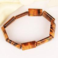 Tiger Eye Bracelet - Cushion Shape