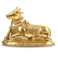 Nandi the Bull in Bronze