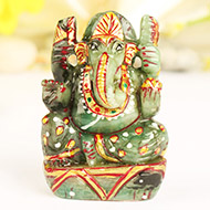 Ganesh in Emerald - 239 carats
