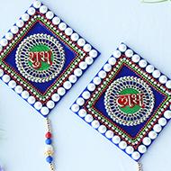 Shubh Labh Acrylic set - V