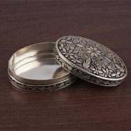 Pure Silver Container - Oval