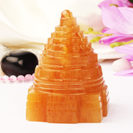 Yellow Jade Shree Yantra - 202 gms