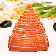 Shree Yantra in Sunstone - 400 gms