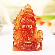 Shiva in Gomed - 85.35 carat