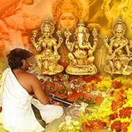 Laxmi Ganesha Saraswati Puja For Higher Education