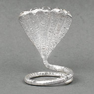Five headed Snake in pure silver