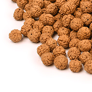 Rudraksha loose beads pack - 6mm