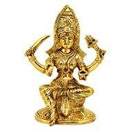 Santoshi Maa in Brass - III