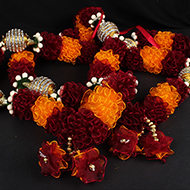 Deity Garlands Large - Set of 2 - Design IV