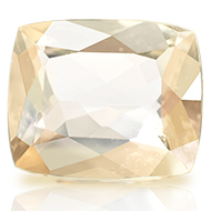 Imperial Yellow Topaz - 6.80 carats - Cushion