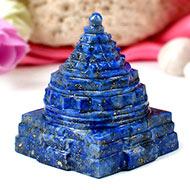Lapis Lazuli Shree Yantra - 120 gms