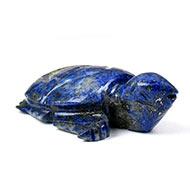 Kurma in Lapis Lazuli - 11.76 gms
