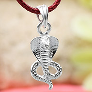 Snake Locket in Pure Silver - Design II