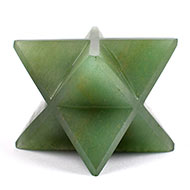 Star Pyramid in Green Jade - Love and Harmony - 222 gms