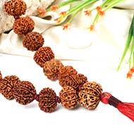 Ganesh mala in thread - 54+1 beads
