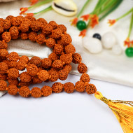 Rudraksha mala in thread - 8mm