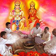 Hanuman Gayatri Mantra Japa Yagna and Homam