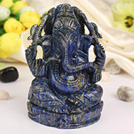Lapis Lazuli Ganesha 652 gms