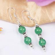 Green Jade earring
