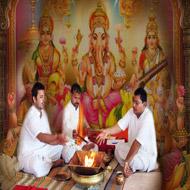 Laxmi Ganesh Saraswati Puja