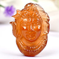 Shiva in Gomed - 42.05 carat